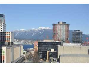 #1709 788 Hamilton Street, Vancouver | TV Towers | TV Tower 1 | View