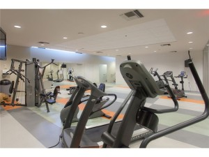 TV Towers Vancouver Fitness Room Gym