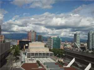1709 - 788 Hamilton Street Vancouver - TV Towers - TV Tower 1 - view